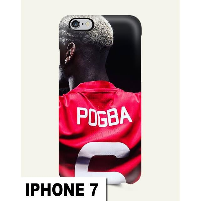 coque iphone 7 pogba foot