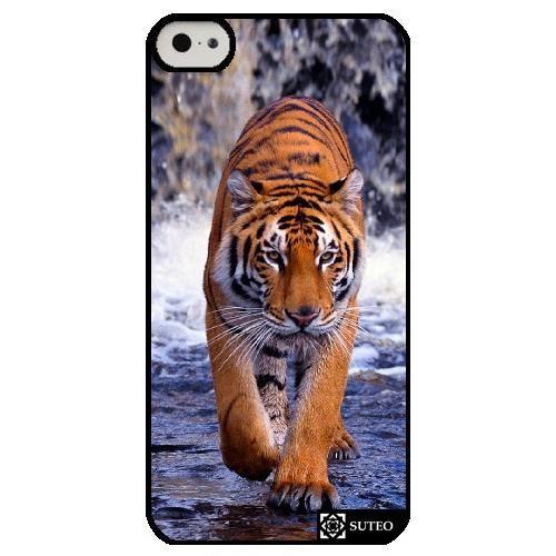 coque iphone 5c demarche d un tigre ref 415