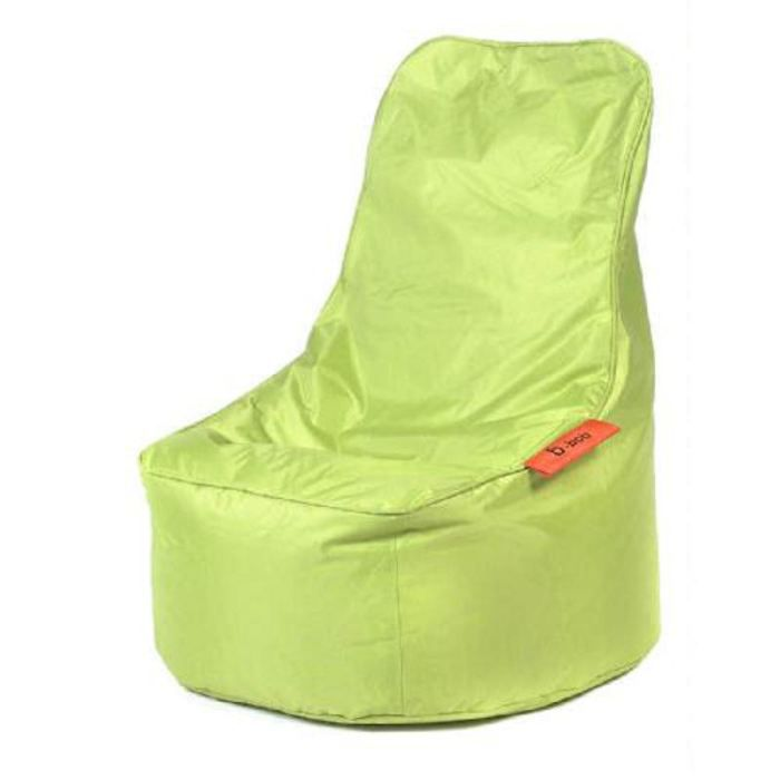 pouf coussin bbob lounge lime large achat vente pouf poire cdiscount. Black Bedroom Furniture Sets. Home Design Ideas