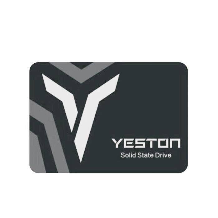 DISQUE DUR SSD SMRT Yeston Disque Dur SSD Interne SATA3 6Gbps Hau