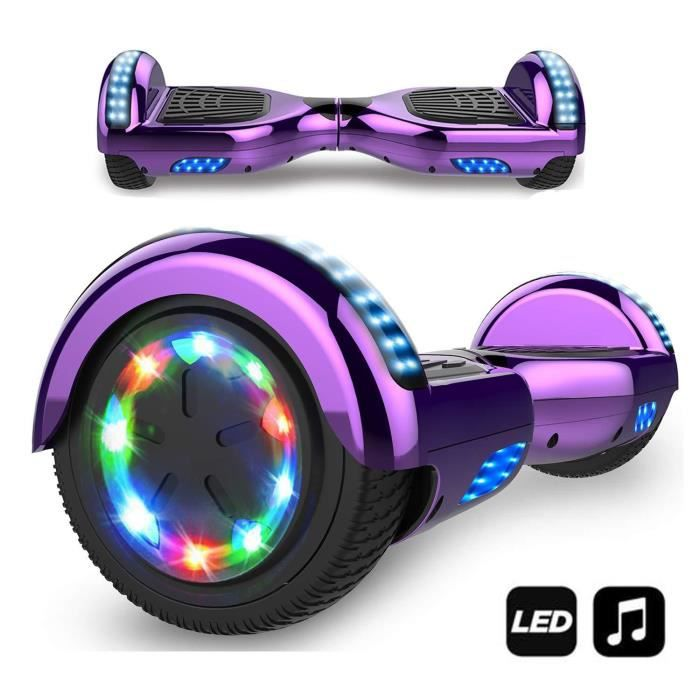 Photo de markboard-hoverboard-bluetooth-6-5-pouces-gyropode-overboard-smart-scooter