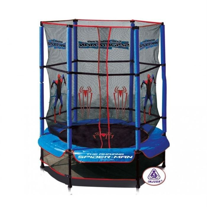 spiderman trampoline 140 cm 8410964208169 achat vente trampoline cdiscount. Black Bedroom Furniture Sets. Home Design Ideas