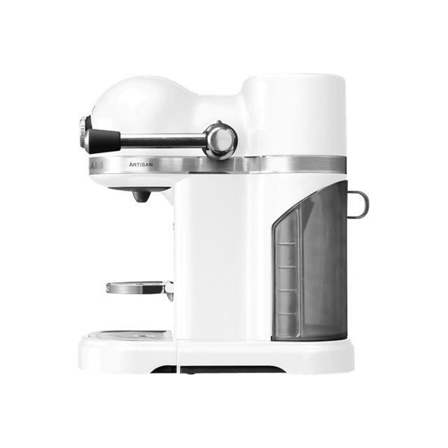 kitchenaid cafeti re nespresso automatique 19bars blanc givre 5kes0503efp achat vente. Black Bedroom Furniture Sets. Home Design Ideas