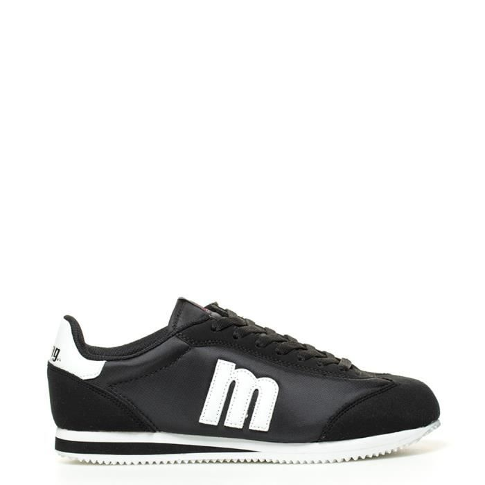 Mustang - Chaussures noires, Quay blanc