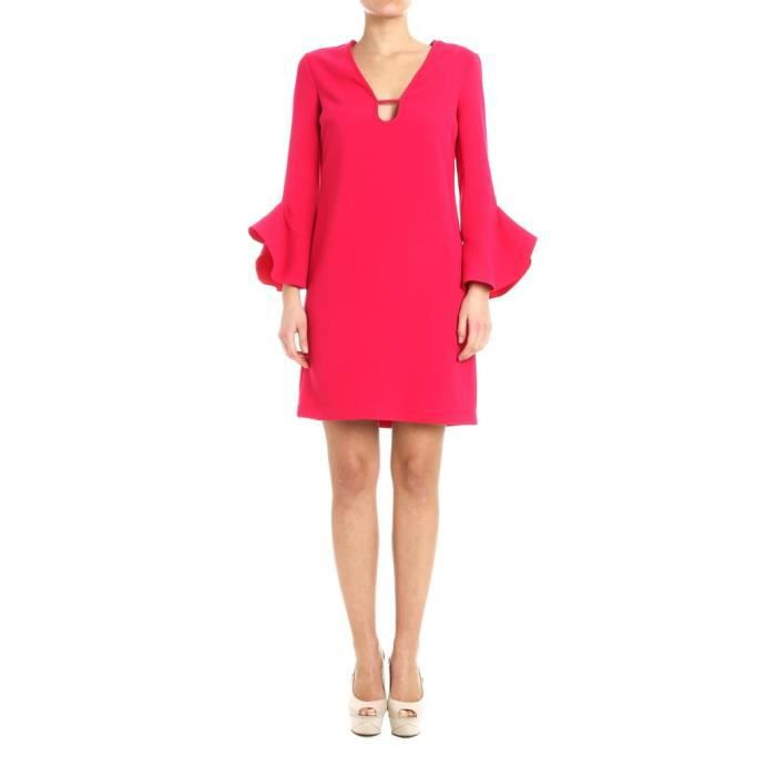 PINKO FEMME 1G13376415R51 ROUGE POLYESTER ROBE
