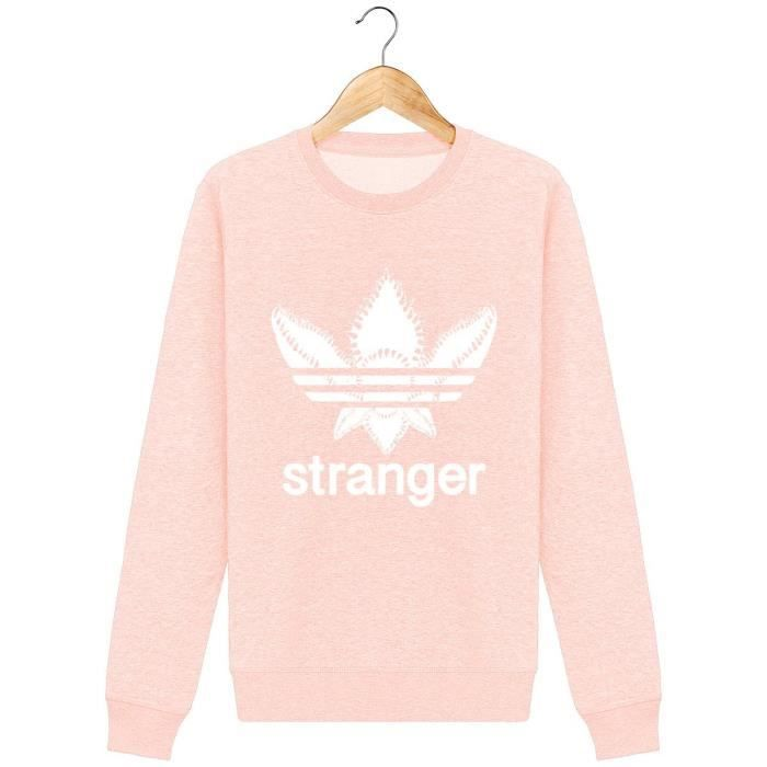 Sweat Stranger Things Monstre Démogorgon Parodie Adidas Logo