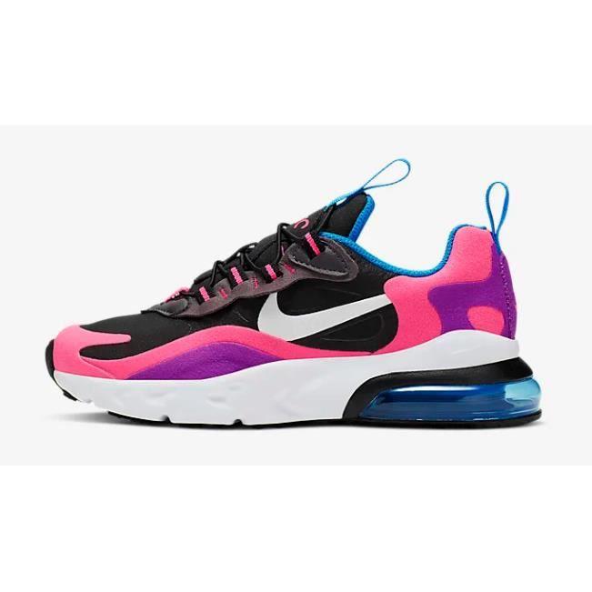 air max 270 react femme noir et rose