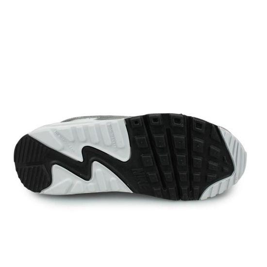 Nike Air Max 90 Junior Blanc (38 1/2) Blanc - Cdiscount Chaussures