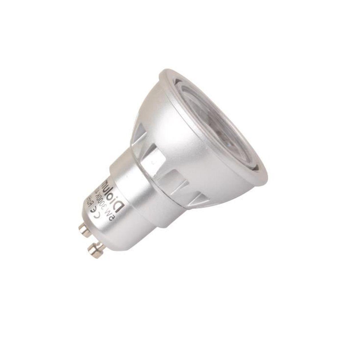 Mes Ampoules Led Scintillent ampoule led spot gu10 5w sans scintillement blanc chaud- 4