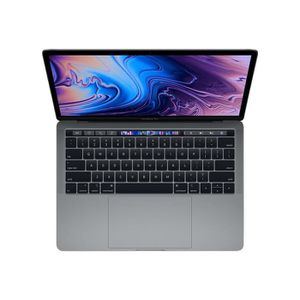 "Achat PC Portable Apple MacBook Pro with Touch Bar Core i5 2.3 GHz macOS 10.13 High Sierra 8 Go RAM 512 Go SSD 13.3"" IPS 2560 x 1600 (WQXGA) Iris… pas cher"