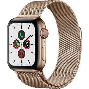 MONTRE CONNECTÉE Apple Watch Series 5 Cellular 40 mm Boîtier en Aci