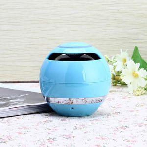 ENCEINTE NOMADE Mini haut-parleur portatif sans fil bleu