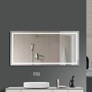 Miroir salle de bain avec eclairage 60 cm