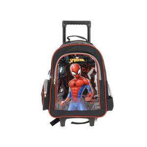Sac /à Dos Garcon Primaire Spiderman Cartables Gar/çon Marvel Enfant /École 3D Vacances