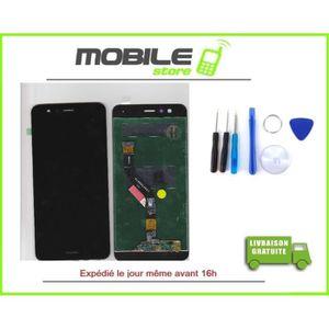 ECRAN DE TÉLÉPHONE VITRE TACTILE + ECRAN LCD HUAWEI P10 LITE NOIR + O