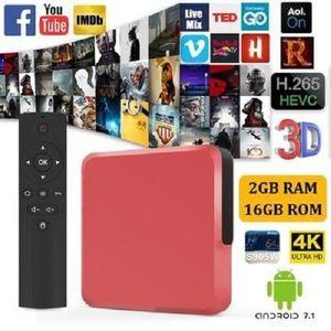 BOX MULTIMEDIA S9mini Android 7.1.2 Décodeur Stream Tv Box avec A