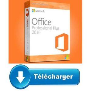 LIVRE INTERNET Office 2016 Professionnel Pro plus PC - Version à