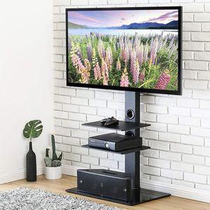FIXATION - SUPPORT TV Meuble TV avec Support Pivotant Cantilever pour Té