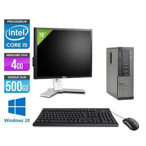 ORDINATEUR TOUT-EN-UN Pc de bureau Dell 7010 - i5 - 4Go - 500Go HDD - W1