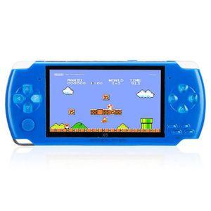 CONSOLE PSP Console de jeux vidéo Portable Console 8GB 4.3