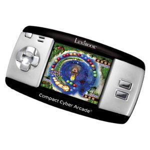 CONSOLE ÉDUCATIVE LEXIBOOK - Compact Cyber Arcade® Noir - 250 jeux -