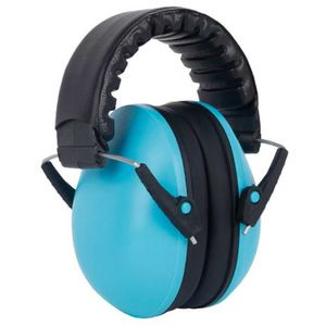CASQUE AUDIO ENFANT MOGOI Cache-oreilles insonorisé pour enfants Bleu
