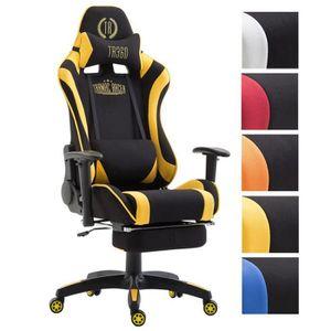 SIÈGE GAMING CLP Fauteuil de bureau VARYS en tissu, fauteuil ra