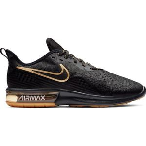 BASKET NIKE AIR MAX NEWS SEQUENT 4 NOIR/OR ADULTE 2019 su