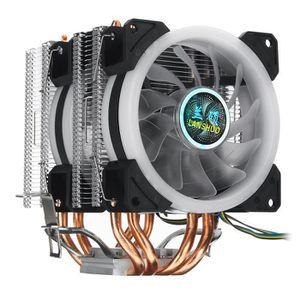 VENTILATION  CharacterL Ventilateur processeur LED 4 Pin Pour i