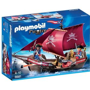 UNIVERS MINIATURE PLAYMOBIL 6681 - Pirates - Chaloupe des Soldats