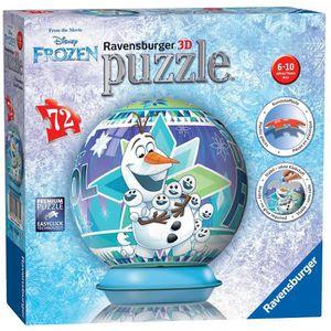 CASSE-TÊTE Ravensburger Disney Frozen, 72pc 3d Jigsaw Puzzle