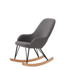 rocking chair moderne achat vente rocking chair moderne pas cher cdiscount. Black Bedroom Furniture Sets. Home Design Ideas