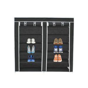 MEUBLE À CHAUSSURES Armoire, Penderie, 2 portes, placard à chaussures,