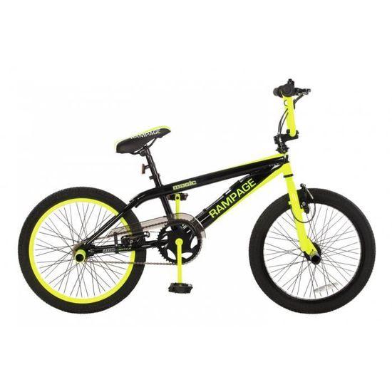 """20/"""" RAMPAGE Noir Jante Vélo Annodized roue volés marque Bmx Freestyle Vélo"""