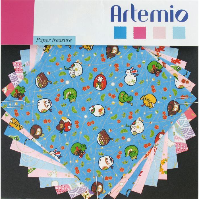 ARTEMIO Papier Japonais Jardins de Printemps