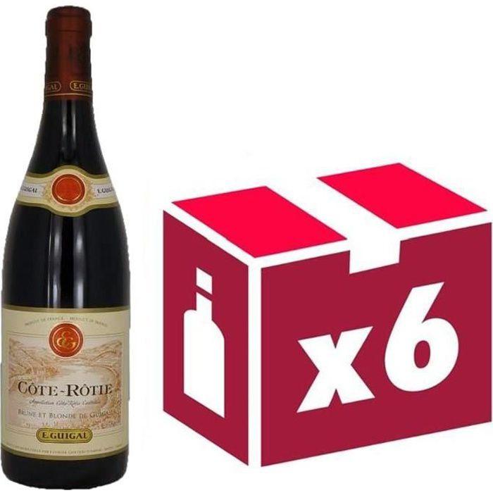 Côte Rôtie vin rouge 6x75cl Guigal