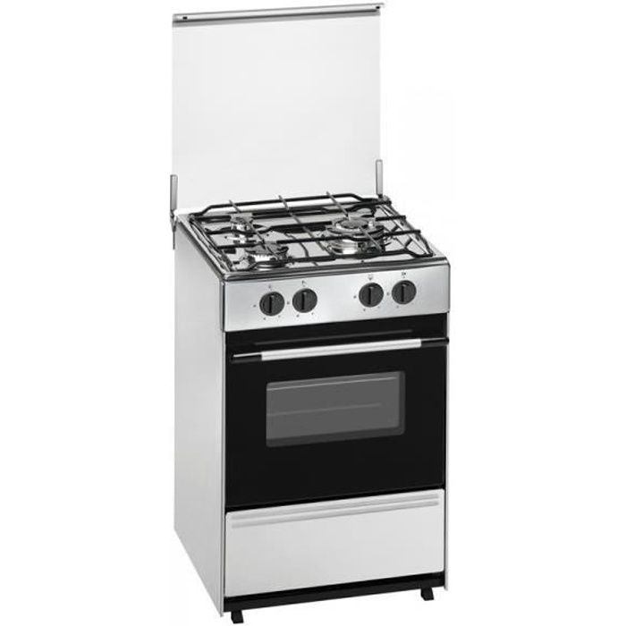 Meireles G 1530 DV X, Cuisinière, Acier inoxydable, Rotatif, Devant, Cuisinière à gaz, Acier inoxydable