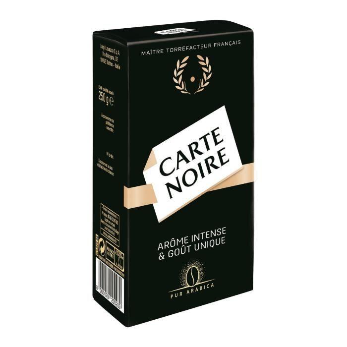 Carte Noire café moulu 2x250