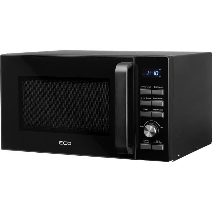 ECG MTD2590GBS - Four à micro-ondes grill - 25L - 900W