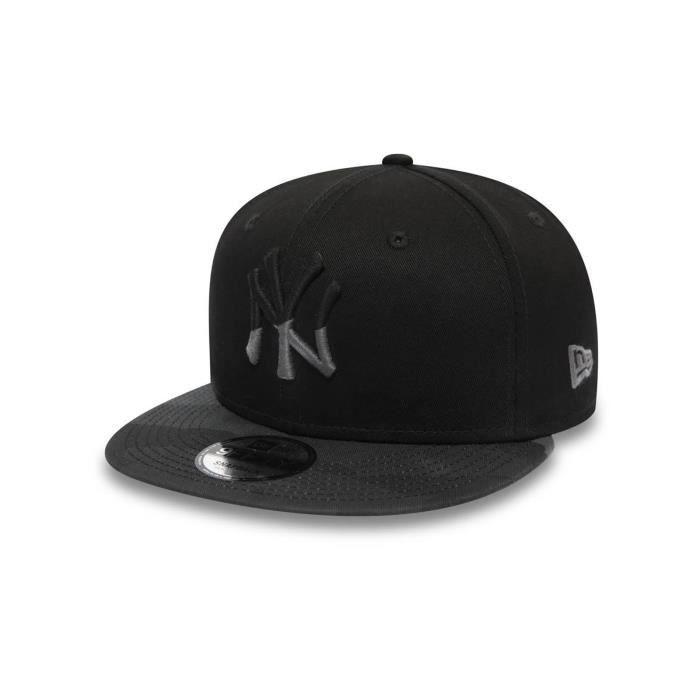 Casquette Snapback New Era Camo Essential 9Fifty New York Yankees Noir Midnight