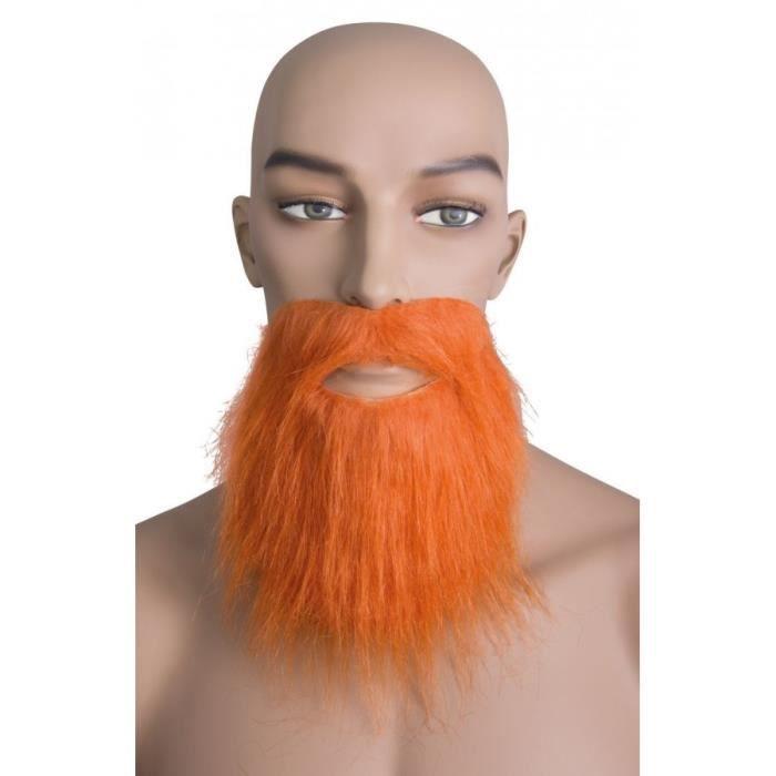 Autre Accessoire Deguisement Vendu Seul - Barbe et moustache raides roux