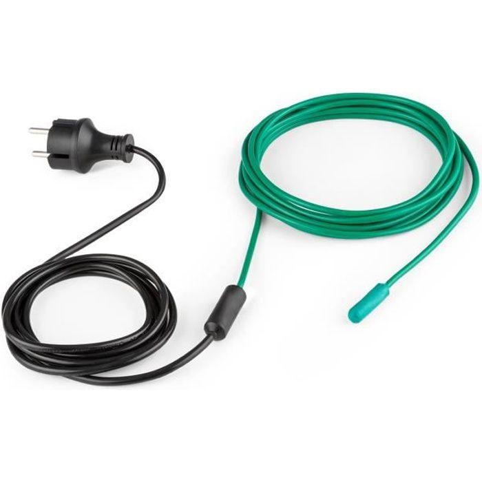 Waldbeck Greenwire Câble chauffant de 6m - Antigel - Chauffage pour plantes 30W IP44