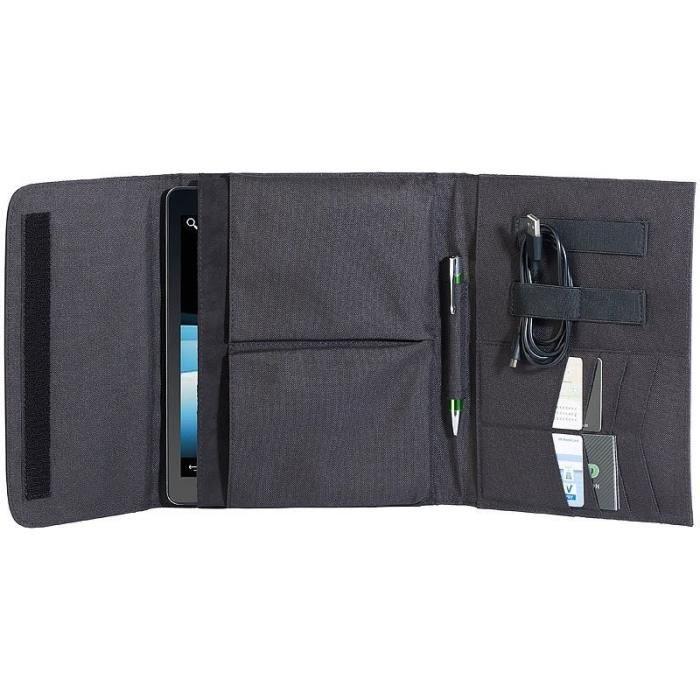 Housse de protection tablettes avec rangements - jusqu'à 10,1''