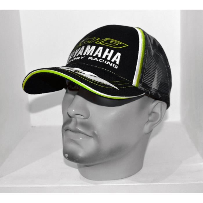 CASQUETTE YAMAHA FACTORY RACING M1 OFFICIELLE CAMO VERTE MOTO GP