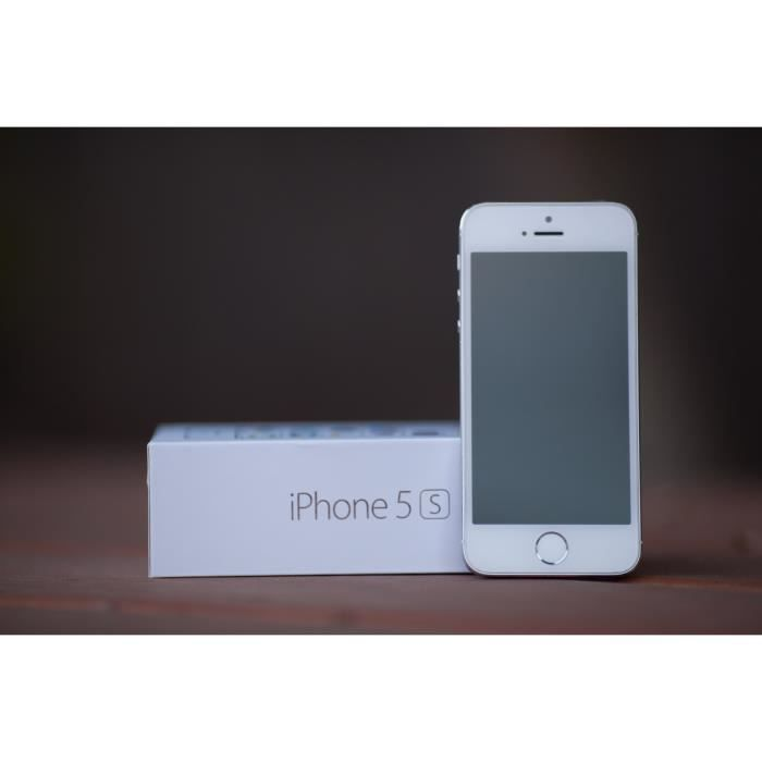 apple iphone 5s blanc 32go prix casse achat smartphone. Black Bedroom Furniture Sets. Home Design Ideas