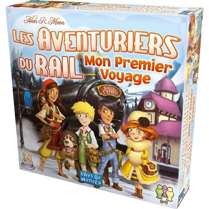 Aventuriers du Rail : Mon Premier Voyage