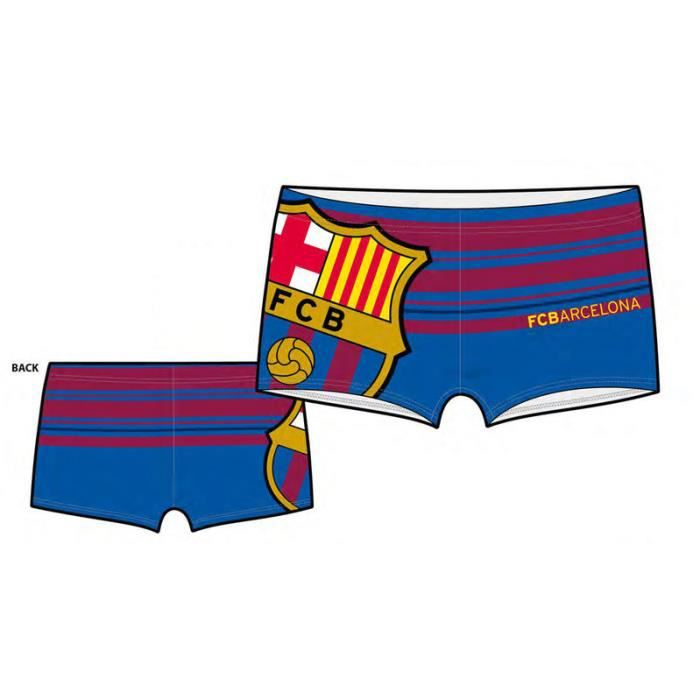 maillot de bain enfants fc barcelone shorty boxer pour. Black Bedroom Furniture Sets. Home Design Ideas