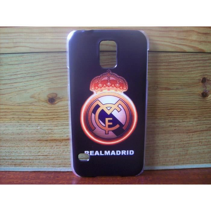coque real madrid samsung galaxy s5 neuf motif b achat. Black Bedroom Furniture Sets. Home Design Ideas