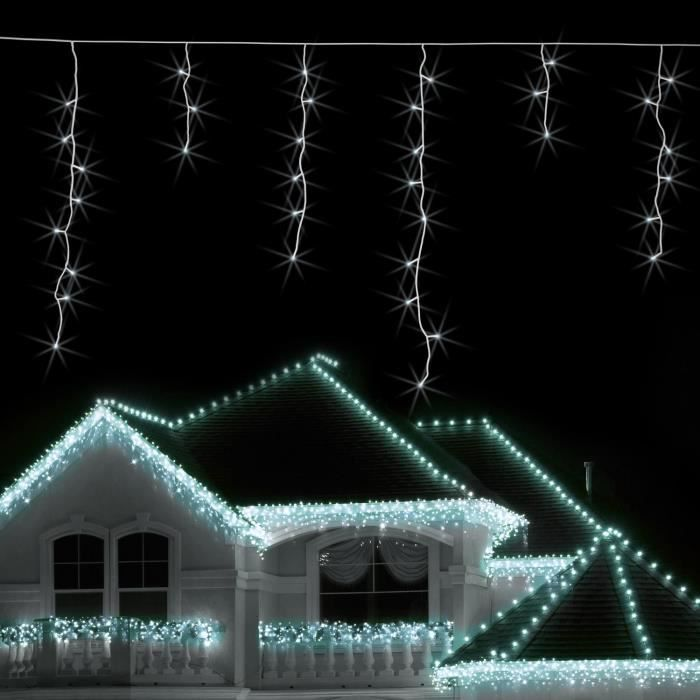 blumfeldt dreamhaus guirlande lumineuse pour d coration ext rieure noel hiver 24m 480 led. Black Bedroom Furniture Sets. Home Design Ideas