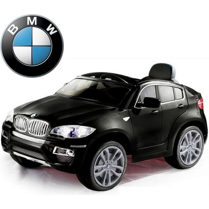 voiture lectrique 4x4 bmw x6 t l commande 12v achat vente voiture enfant cdiscount. Black Bedroom Furniture Sets. Home Design Ideas